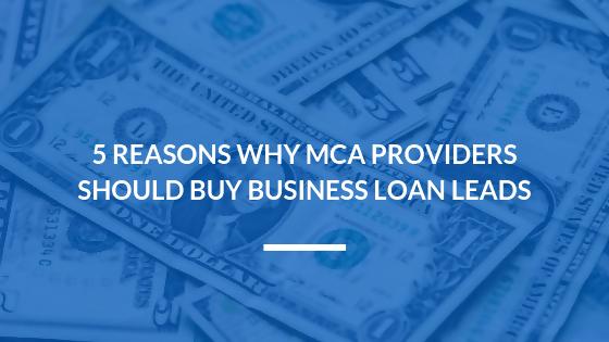 buy business loan leads