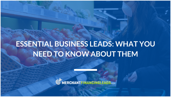 Essential Business Leads: What You Need to Know About Them