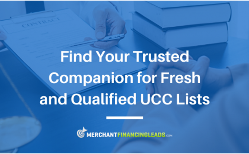 Find Your Trusted Companion for Fresh and Qualified UCC Lists