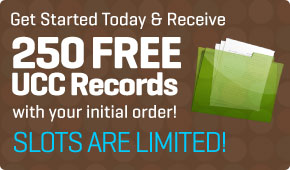 250 Free UCC Records with First Order