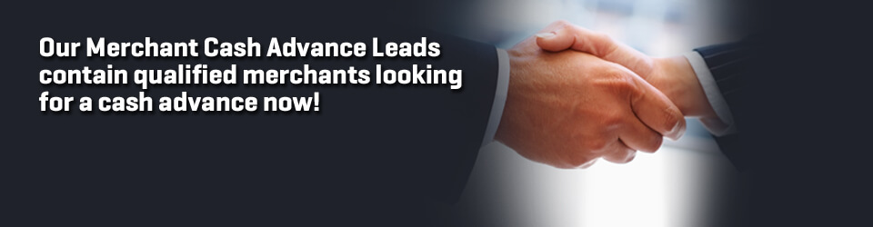 Qualified Merchant Leads
